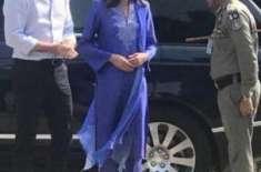 شہزادی کیٹ مڈلٹن کو دیکھ کر سعودی خواتین بھی پاکستانی ملبوسات پر مر ..