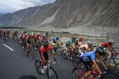 ٹور ڈی خنجراب سائیکل ریس میں بہترین کارکردگی پر ڈسٹرکٹ ایڈمنسٹریشن ..