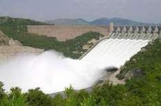 مختلف آبی ذخائر میں پانی کی آمد و اخراج کی صورتحال