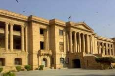 عزیر بلوچ کی عدالت میں پیشی کی درخواست کا جواب سندھ ہائی کورٹ میں جمع