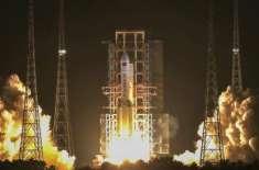 چین نے مریخ منصوبے کے تحت طاقتور راکٹ خلا میں بھیج دیا