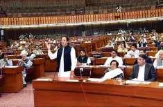 قومی اسمبلی کے اجلاس کی کارروائی عوام کے لیے کھولنے کا اعلان کر دیا ..