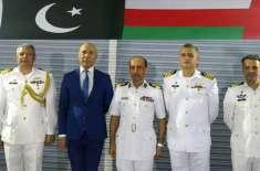 ریجنل میری ٹائم سکیورٹی پٹرول تعیناتی کے ضمن میں پاک بحریہ کے جہاز ..