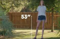 طویل قد کی مالک 16سالہ لڑکی
