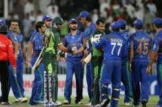 افغان کرکٹ ٹیم پاکستان آنے پر رضامند
