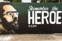 نیوزی لینڈ کے ایک آرٹسٹ کا سانحہ کرائسٹ چرچ میں شہید پاکستانی نعیم ..