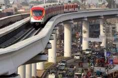 چین کی مداخلت پر اورنج لائن میٹرو ٹرین منصوبے کے آپریشنز کا ٹھیکہ رواں ..