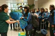 سری لنکا کی کرکٹ ٹیم کے بعد بنگلہ دیش کی ویمن کرکٹ ٹیم لاہور پہنچ گئی