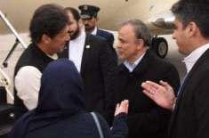 وزیراعظم 2 روزہ سرکاری دورے پر ایران پہنچ گئے