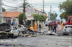 طیارے کی سڑک پر کریش لینڈنگ، تین افراد ہلاک
