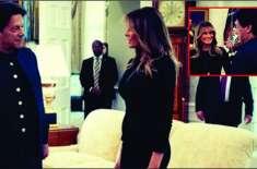 وزیراعظم عمران خان کی امریکی خاتونِ اول سے ملاقات