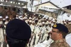 کورکمانڈر راولپنڈی کا دورہ سیاچن