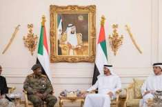 سوڈان کی عبوری عسکری کونسل کے سربراہ کی امارتی ولی عہد الشیخ محمدبن ..