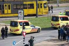 ہالینڈ کے شہر یوتر یخت میں مسافر ٹرام پر حملہ، 4 افراد ہلاک