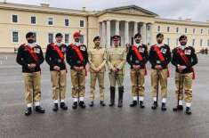 پاکستان آرمی نے برطانیہ کی رائل ملٹری اکیڈمی سنڈوراسٹ کامعروف بین ..