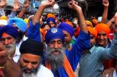پیرس میں سکھ کمیونٹی کا مودی مردہ باد مظاہرہ ، مظاہرین نے انڈین سفارت ..