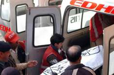 کوچ کی موٹرسائیکل سوار کو ٹکر ایک شخص جاںبحق دوسرا شدید زخمی