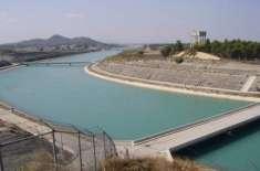 مختلف آبی ذخائر میں پانی کی آمد و اخراج کے اعداد و شمار جاری