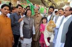 مسلم لیگ ن حیدرآباد کی جانب سے نواز شریف کی رہائی کے لیے ریلی کا انعقاد