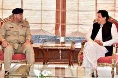 وزیراعظم عمران خان کی آرمی چیف جنرل قمر جاوید باجوہ سے ملاقات