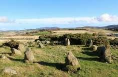 ہزاروں سال قدیم سمجھے جانے والا پتھروں کا دائرہ حقیقت میں 1990 کی دہائی ..