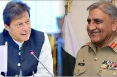 طویل عرصہ بعد آرمی چیف اور وزیراعظم کی 40 منٹ کی ملاقات