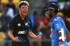 سورج کی تیز کرنوں کے باعث نیوزی لینڈ اور بھارت کے درمیان میچ آدھ گھنٹے ..