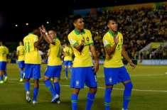 فرانس اور برازیل کی ٹیمیں انڈر 17 فٹ بال ورلڈ کپ کے سیمی فائنل میں پہنچ ..