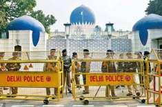 بھارت ، دہلی سمیت دیگر ریلو ے سٹیشنوں کو بم سے اڑانے کی دھمکی،سکیورٹی ..