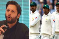 When Sarfaraz was going to play in S Africa, I told him to announce retirement from Tests: Shahid Afridi