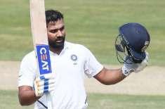 رانچی ٹیسٹ، بھارت نے پہلی اننگز میں 3 وکٹوں پر 224 رنز بنا لئے، روہیت ..
