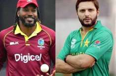Chris Gayle betters Shahid Afridi's record in international cricket