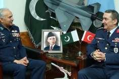 ترکی اور پاکستان افواج کے درمیان مزید تعاون کا فروغ ہماری آپریشنل ..