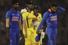 آسٹریلیا اور بھارت کے درمیان فیصلہ کن میچ پرسوں نئی دہلی میں کھیلا ..