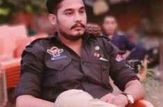 کراچی میں ڈاکوؤں کی فائرنگ سے نوجوان پولیس اہلکار ذیشان شہید