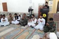 دورآڈہ قبیلہ اکا خیل میں مسجد کو 8 سال بعد نمازیوں کے لیے کھول دیا گیا