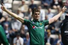Only one Pakistani fast-bowler had more wickets at this point of his career than Shaheen Shah Afridi's 24 wickets in 14 ODIs ..