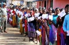 بھارتی انتخابات کے دوسرے مرحلے میں 12 ریاستوں کی 95 نشستوں پر ووٹنگ جاری