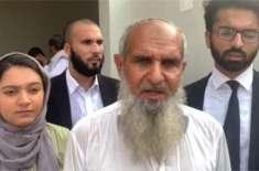 صلاح الدین کے والد نے حافظ سعید کے کہنے پر پولیس اہلکاروں کو معاف کیا