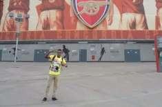 قطری فٹ بال ٹیم کی شرٹ پہننے پر برطانوی سیاح گرفتار