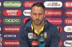 فاف ڈوپلیسی نے آئی پی ایل کو جنوبی افریقی ٹیم کی ناقص پرفارمنس کا ذمہ ..