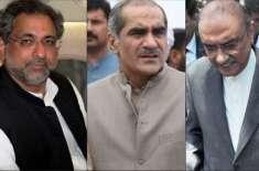 اپوزیشن کے 4 اسیر رہنماؤں کے پروڈوکشن آرڈر جاری