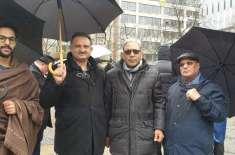 جرمنی کے دارلحکومت برلن میں پاکستانی کمیونٹی کی طرف سے ایک ہندوستان ..