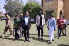 فائنل میں پہنچنے والی پاکستان سپر لیگ کی ٹیموں کو گورنرہائو س میں استقبالیہ ..