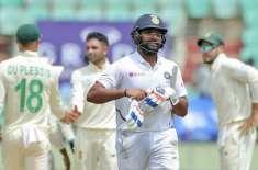 بھارت نے جنوبی افریقہ کو تیسرے اور آخری ٹیسٹ میں اننگز اور 202 رنز سے ..