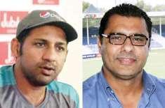 سابق ہیڈ کوچ وقار یونس کی قومی کرکٹ ٹیم کے کپتان سرفراز احمد کو مبارکباد