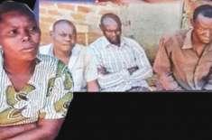 ایک شوہر سے شادی ناکام ہونے پر  خاتون نے ایک ساتھ تین مردوں سے شادی کر ..