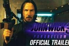 ہالی وڈ کی نئی ایکشن تھرلر فلم جان وِک چیپٹر3کا نیا ٹریلر جاری کردیا ..