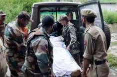 بھارت، ریاست ہماچل پردیش میں عمارت گرنے کے باعث 7 فوجی ہلاک ، 6 زخمی