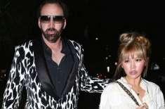 امریکی اداکار نکولس کیج شادی کے 4دن ہی بیوی سے اکتا گئے'طلاق دینے کا ..